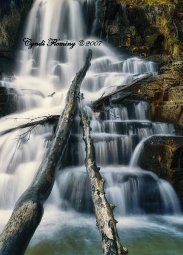 Pete's Dam Waterfall